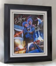 "A234TRON BRUCE BOXLEITNER & CINDY MORGAN - ""TRON"" DUAL SIGNED"